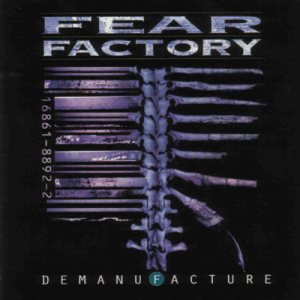 Fear Factory - Demanufacture cover art