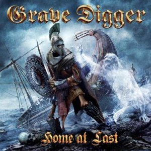 Grave Digger - Home at Last cover art
