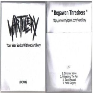 Wartillery - Your War Sucks Without Artillery cover art