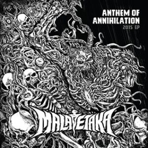 Malapetaka - Anthem of Annihilation cover art