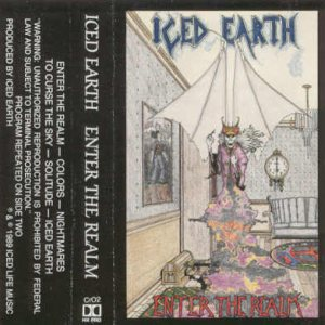 Iced Earth - Enter the Realm cover art