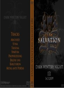 Dark Salvation - Dark Winters Night III 14/03/2009 cover art