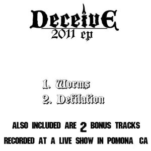 Deceive - 2011 EP cover art