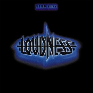 Loudness - 8186 Live cover art
