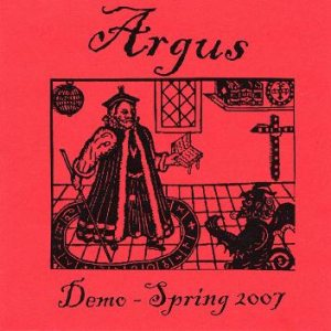 Argus - Demo 2007 cover art