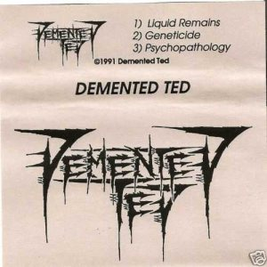 Demented Ted - Demo 1991 cover art