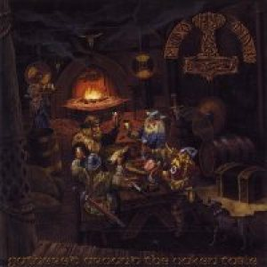 Mithotyn - Gathered Around the Oaken Table cover art