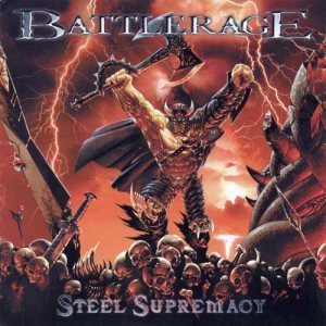 Battlerage - Steel Supremacy cover art