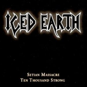 Iced Earth - Setian Massacre cover art