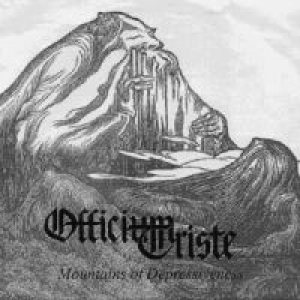 Officium Triste - Mountains of Depressiveness cover art