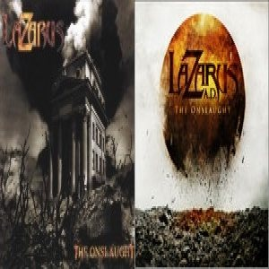 Lazarus A.D. - The Onslaught cover art
