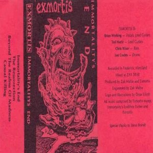 Exmortis - Immortality's End cover art