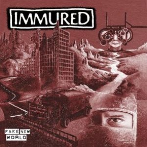 Immured - Fake New World cover art