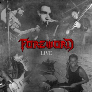 Foreword - Live cover art