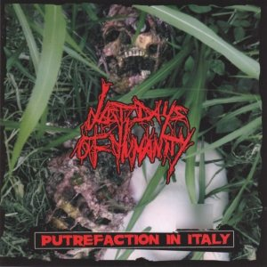 Last Days of Humanity - Putrefaction in Italy / No More Screamin' cover art