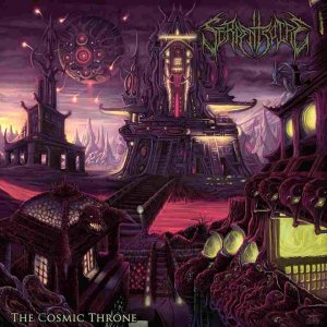 Serpentspire - The Cosmic Throne cover art