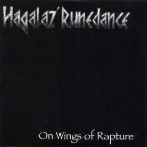 Hagalaz' Runedance - On wings of Rapture cover art