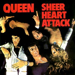Queen - Sheer Heart Attack cover art