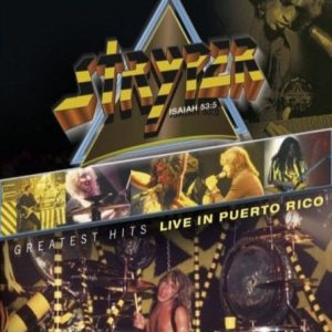 Stryper - Live in Puerto Rico cover art