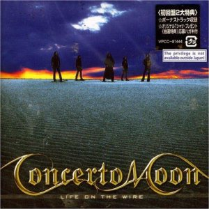 Concerto Moon - Life on the Wire cover art