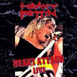 Heavy Pettin' - Heart Attack Live cover art