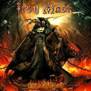 Iron Mask - Black As Death cover art
