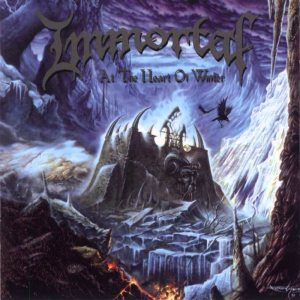 Immortal - At the Heart of Winter cover art