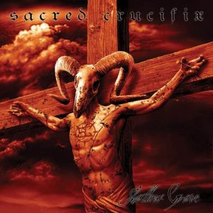 Sacred Crucifix - Shallow Grave cover art