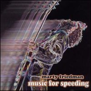Marty Friedman - Music for Speeding cover art