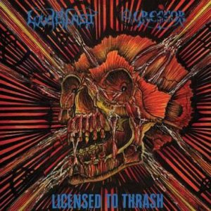 Loudblast - Licensed to Thrash cover art