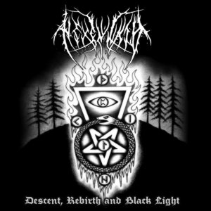 Hexenwald - Descent, Rebirth and Black Light cover art