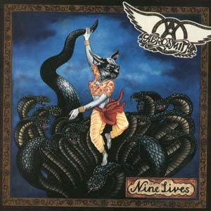 Aerosmith - Nine Lives cover art