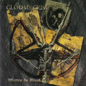 Gloomy Grim - Written in Blood cover art