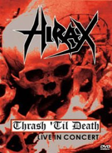 Hirax - Thrash 'til Death cover art