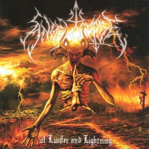 Angelcorpse - Of Lucifer and Lightning cover art