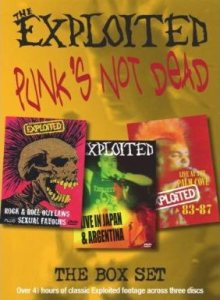 The Exploited - Punk's Not Dead cover art