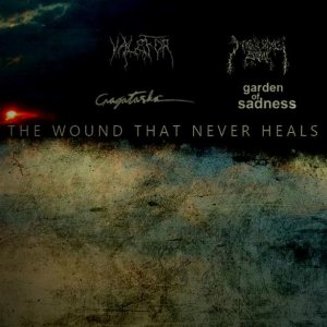 Cragataska / Valefor / Mourning Soul - The Wound That Never Heals cover art
