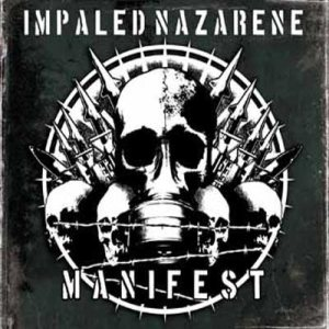Impaled Nazarene - Manifest cover art