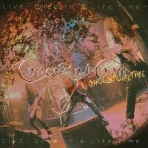 Concerto Moon - Live - Once in a Life Time cover art