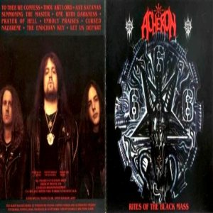 Acheron - Rites of the Black Mass cover art