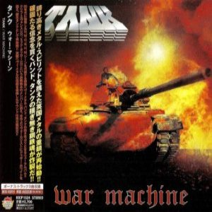 Tank - War Machine cover art
