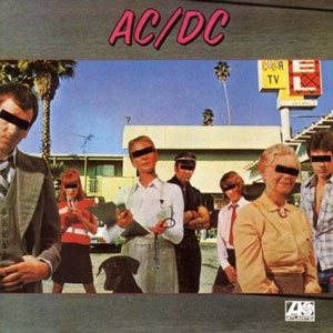AC/DC - Dirty Deeds Done Dirt Cheap cover art
