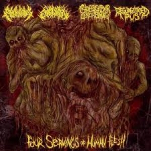 Chainsaw Castration - Four Servings of Human Flesh cover art