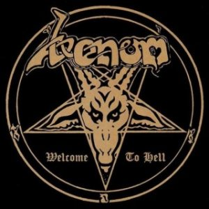 Venom - Welcome to Hell cover art
