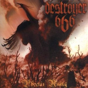 Destroyer 666 - Phoenix Rising cover art