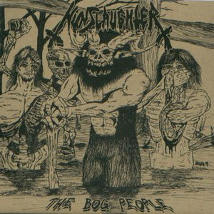 Nunslaughter - The Bog People cover art