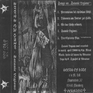 Seeds Of Hate - Satanic Legions cover art