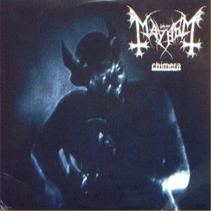 Mayhem - Chimera cover art