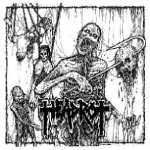 Headrot - Gulping the Remains cover art