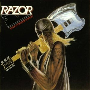 Razor - Executioner's Song cover art